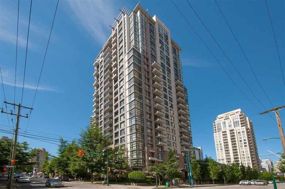 708 1295 Richards Street - Downtown VW Apartment/Condo for sale, 1 Bedroom (R2039675) #1