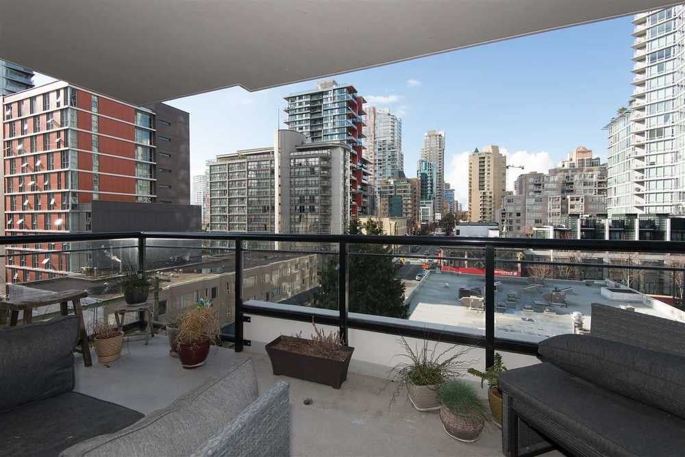 708 1295 Richards Street - Downtown VW Apartment/Condo for sale, 1 Bedroom (R2039675) #12