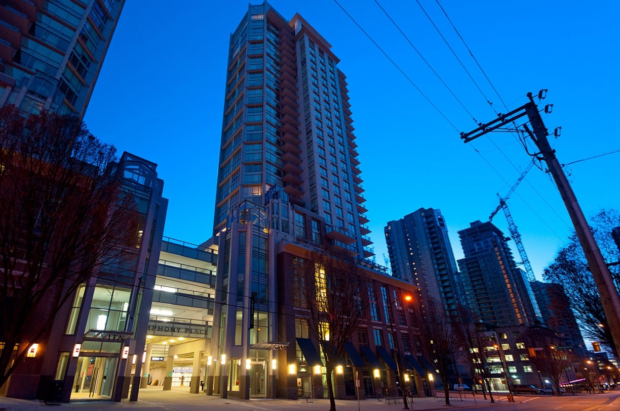 1205 - 535 Smithe Street  - Yaletown Apartment/Condo for sale, 2 Bedrooms (V955964) #2