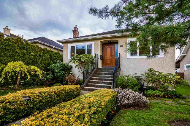 48 W 27TH AVENUE - Cambie House/Single Family for sale, 3 Bedrooms (R2162142) #1
