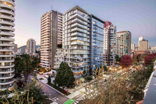 318 1330 BURRARD STREET - Downtown VW Apartment/Condo for sale, 1 Bedroom (R2209947) #19