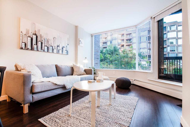 318 1330 BURRARD STREET - Downtown VW Apartment/Condo for sale, 1 Bedroom (R2209947) #7