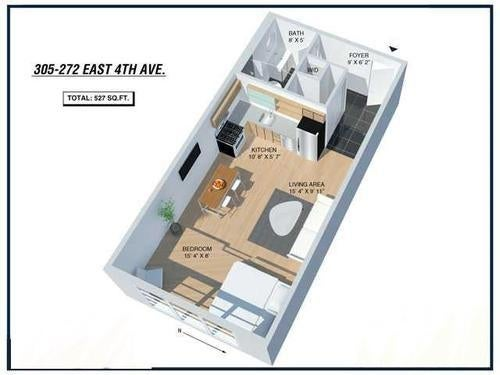 305 272 E 4th Avenue - Mount Pleasant VE Apartment/Condo for sale, 1 Bedroom (V1019367) #16